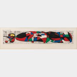 Joan Miró (Spanish, 1893-1983)      Les Troglodytes I