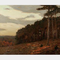 Charles Warren Eaton (American, 1857-1937)      Autumn, New England