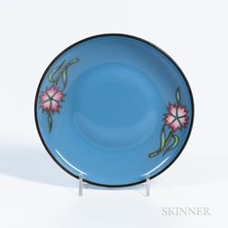 Gray/Blue Totai Cloisonné Dish