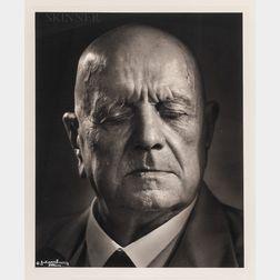 Yousuf Karsh (Armenian/Canadian, 1908-2002)      Jean Sibelius