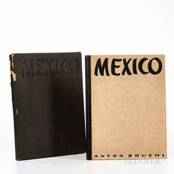 Bruehl, Anton (1900-1982) Photographs of Mexico.