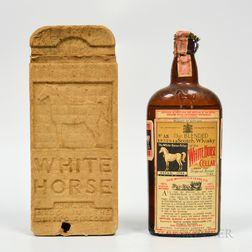 White Horse Cellar 8 Years Old, 1 4/5 quart bottle (oc)