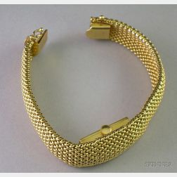 Lady's 14kt Gold Covered Wristwatch, Glycine