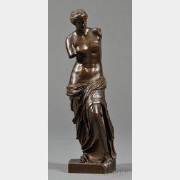 Bronze Grand Tour Figure of Venus de Milo