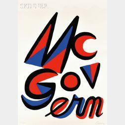Alexander Calder (American, 1898-1976)      McGovern