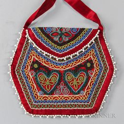 Northeast Beaded Cloth Bag