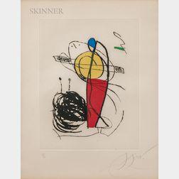 Joan Miró (Spanish, 1893-1983)      The Suite Chanteur des Rues