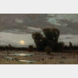 Charles Warren Eaton (American, 1857-1937)      Moonrise
