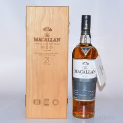 Macallan Fine Oak 21 Years Old, 1 750ml bottle (owc)
