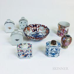 Eight Asian Ceramic Items