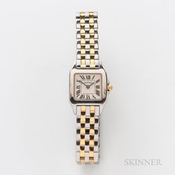 "Cartier Two-tone ""Santos Demoiselle"" Reference 2698 Wristwatch"