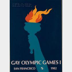 Geoffrey Graham (American, 20th Century)      Gay Olympic Games I