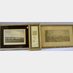 Ten Assorted Framed Works on Paper