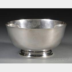"Watson Sterling ""Paul Revere 1768"" Reproduction Bowl"