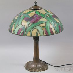 Mosaic Glass Table Lamp,