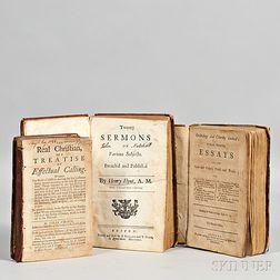 American Imprints, Pre-1750, Three Titles.