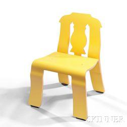 Richard Venturi Queen Anne Chair with Brochure