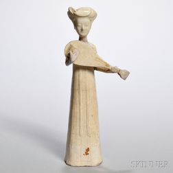 Pottery Figure of a Musician