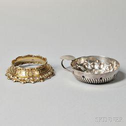 George IV Sterling Silver-gilt Claret Bottle Collar