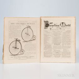 The Bicycling World, a Journal of Bicycling, Archery, and Other Polite Athletics.