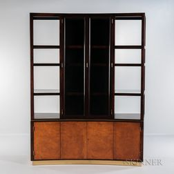 Edward Wormley for Dunbar Breakfront Cabinet and China Closet