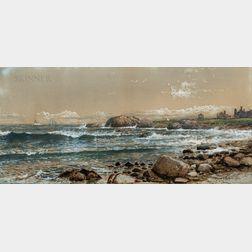 Edmund Darch Lewis (American, 1835-1910)      Horse Head House, Jamestown, Rhode Island