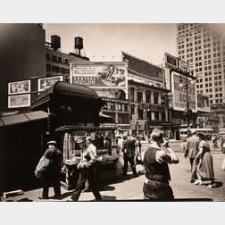 Berenice Abbott (American, 1898-1991)      Union Square