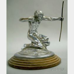 Pierce Arrow Chrome Hood Ornament, designed by William Schnell, c. 1932