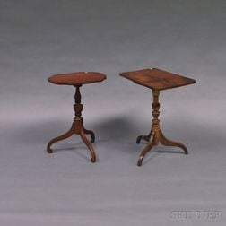 Two Federal Candlestands