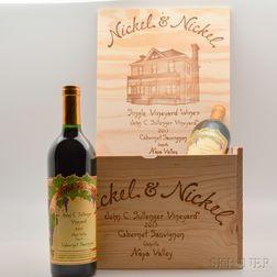 Nickel & Nickel Cabernet Sauvignon John C. Sullenger Vineyard 2013, 6 bottles (owc)