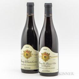 Hubert Lignier, 2 bottles