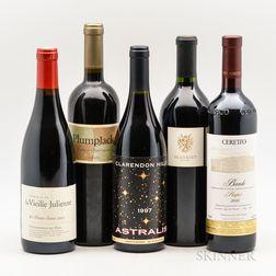 Mixed Wines, 5 bottles