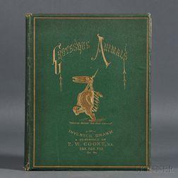 Cooke, Edward William (1811-1880) Entwickelungsgeschichte: Grotesque Animals