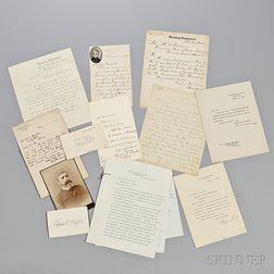 Collection of American Executive Cabinet Member Autographs, Letters, and other Signed Items.
