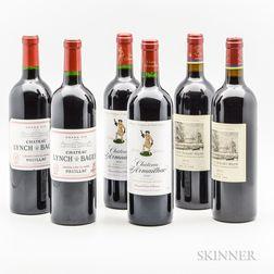 Mixed Bordeaux, 6 bottles