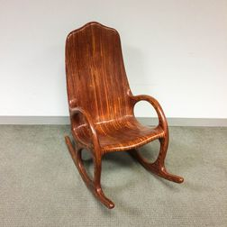 Laminated Rocking Chair