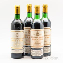 Chateau Pichon Lalande, 4 bottles