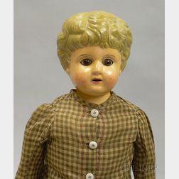 Minerva Metal Shoulder Head Doll