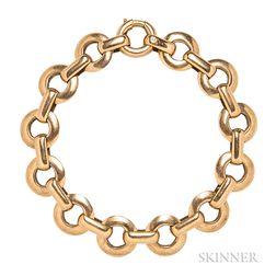 Retro 18kt Rose Gold Bracelet