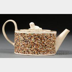 Mochaware Teapot