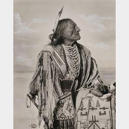 "Frank Rinehart Photo of ""Chief Lick-Sioux,"""