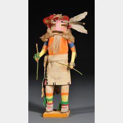 Zuni Carved Wood Kachina