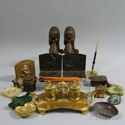 Group of Desk Items
