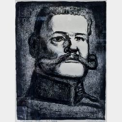 Georges Rouault (French, 1871-1958)      Hindenburg