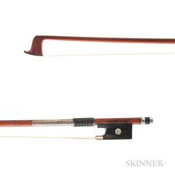 Silver-mounted Violin Bow, Roger Zabinski