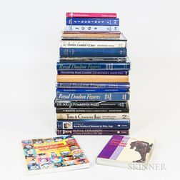 Twenty-three Mostly Doulton-related Reference Books.     Estimate $20-200
