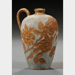 Matt Morgan Art Pottery Pitcher