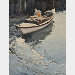 Gordon Hope Grant (American, 1875-1962)      Fisherman at Work