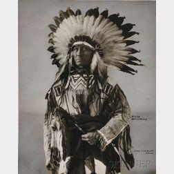"Frank Rinehart Photo of ""White Whirlwind,"""