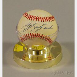 Carl Yastrzemski Autographed Baseball